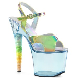 Buty Pleaser Unicorn 711T blue