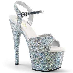 Buty Pleaser Adore 710LG Silver